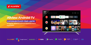 comunicat tv android - 40 inch
