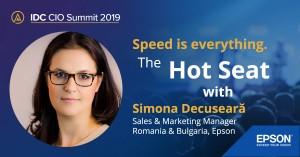Simona Decuseara la CIO 2019